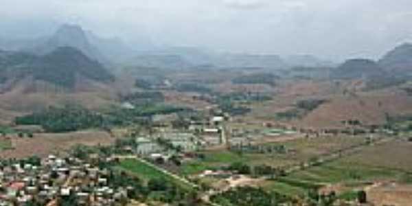 Vista aérea da EAFA com Rive à esquerda-Foto:Prof.Mayron
