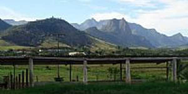Vista da Serra no Distrito de Rive-Foto:Ricardo Louzada