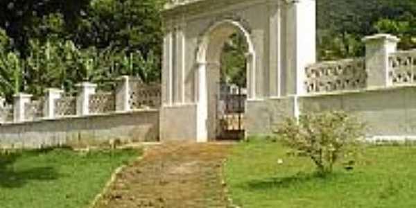 Entrada do Cemitério-Foto:Paraisosantos