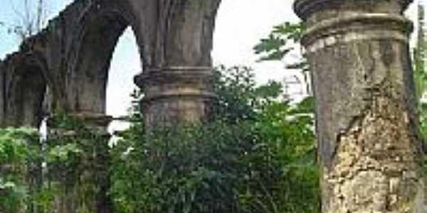 Ruinas da Igreja da Sagrada Família-Foto:Paraisosantos