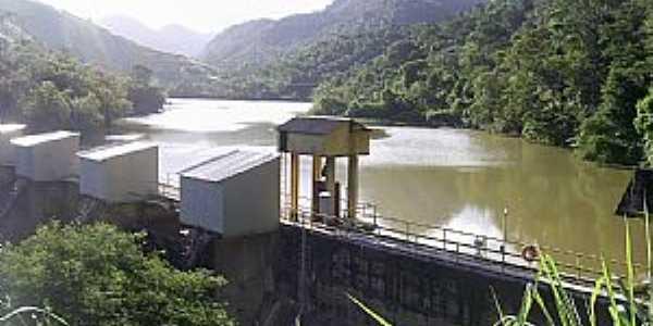 Santa Leopoldina-ES-Barragem da Usina Suiça-Foto:superagradavel