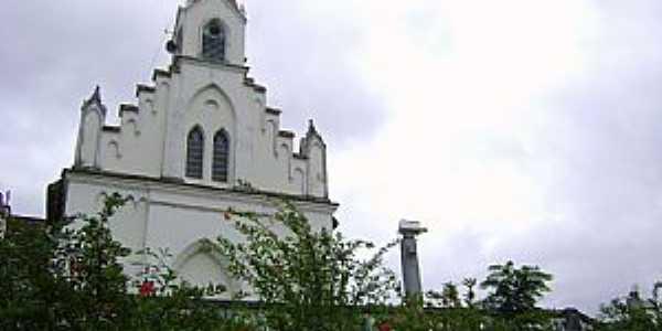 Santa Leopoldina-ES-Igreja Matriz da Sagrada Família-Foto:Paulo Filho
