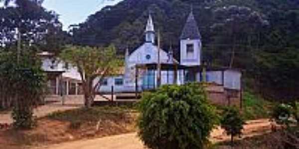 Igreja em Santa Maria de Jetibá-Foto:rodnei braum