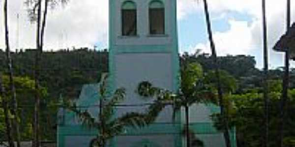 Igreja Luterana em Santa Maria de Jetibá-Foto:Urias E. Takatohi
