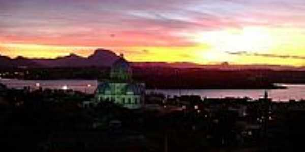 Vista de Santo Antonio ao entardecer-Foto:Rodolpho Fortunato M…