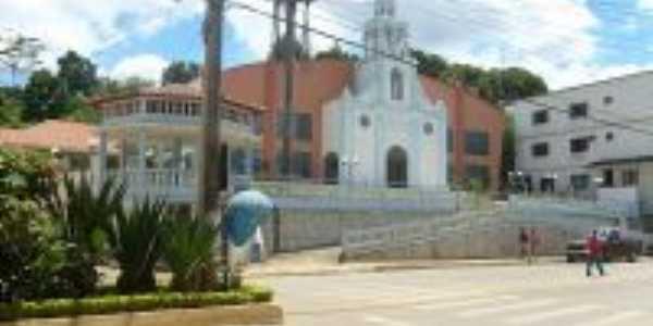 Igreja Matriz de São Domingos do Norte - Praça Principal da Cidade, Por João Aliprandi