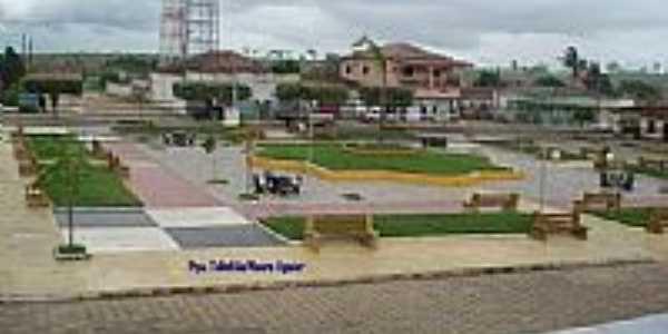 Praça Tabelião Mauro Aguiar-Foto:ELCIMAURO AGUIAR