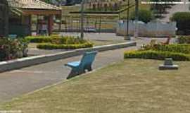 São José do Calçado - Praça Pedro Vieira Filho em São José do Calçado-ES-Foto:Sergio Falcetti