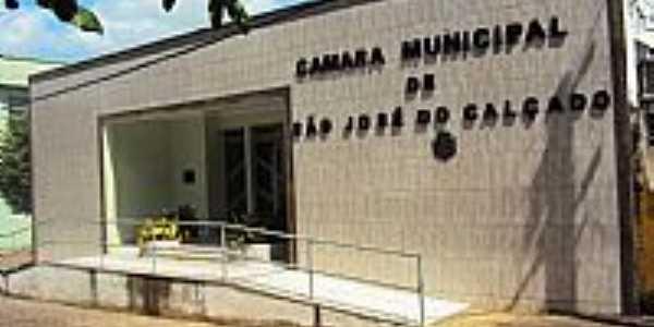 S�o Jos� do Cal�ado-ES-C�mara Municipal-Foto:Marcelo Celin