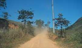 Serra - Estrada rural em Serra-Foto:Alexandre Chieus