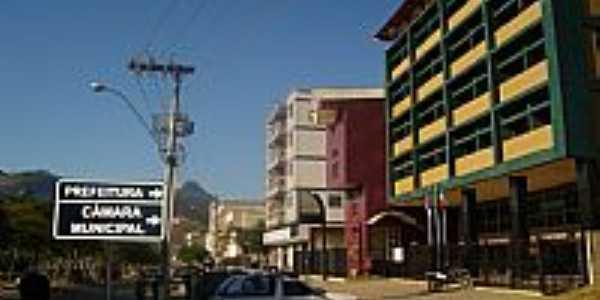 Venda Nova do Imigrante-ES-Prefeitura e C�mara Municipal-Foto:Francisco Vieira de S�