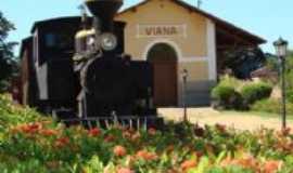 Viana - estação ferroviaria de viana construida em 1815 , Por marcio j sinhoreli