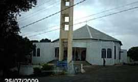 Vila Pavão - Igreja Matriz de São Pedro em Vila Pavão-ES-Foto:Sergio Falcetti