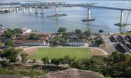 Vila Velha - Vista de cima do convento da Penha, Por Costa