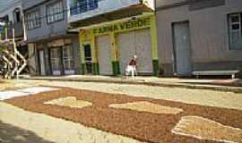 Vila Verde - Tapete da Festa de Corpus Cristi nas ruas de Vila Verde-Foto: Allencar M Nogueira