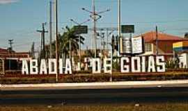 Abadia de Goiás - Trevo de acesso-Foto:Leoiran