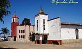 Abadiânia - As duas Igrejas de São Pedro a antiga e a nova em Abadiânia-GO-Foto:mrgeraldo