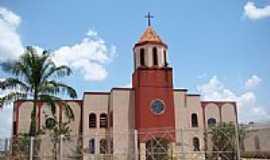 Abadiânia - Matriz de São Pedro e São Paulo Apóstolos em Abadiânia-GO-Foto:Vicente A. Queiroz