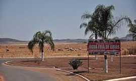 Água Fria de Goiás - Água Fria de Goiás-GO-Trevo de acesso-Foto:projetogoias.blogspot.com