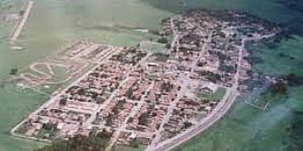 Água Limpa-GO-Vista aérea-Foto:projetogoias.blogspot.com