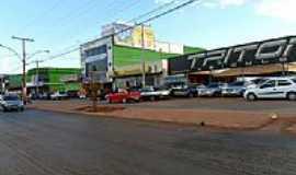 Águas Lindas de Goiás - Avenida JK no Jardim Brasília em Águas Lindas de Goiás-Foto:Silas Lima