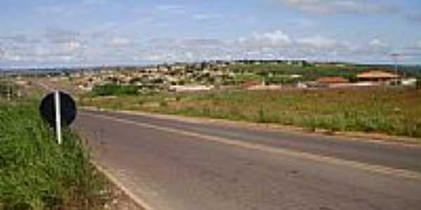 Rodovia BR 070 e a cidade de Águas Lindas de Goiás-Foto:Afc Oliveira