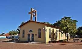 Aloândia - Aloândia-GO-Paróquia de São Sebastião-Foto:Arolldo Costa