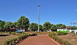 Aloândia - Aloândia-GO-Praça central-Foto:Arolldo Costa