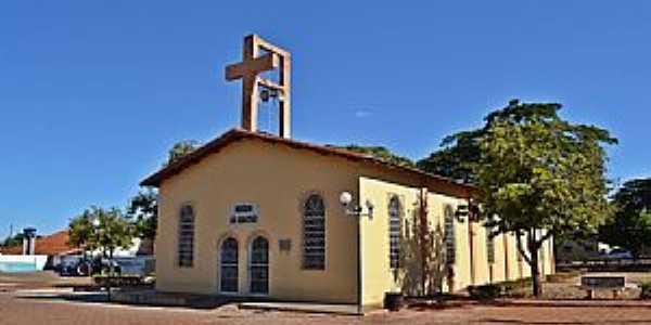 Aloândia-GO-Paróquia de São Sebastião-Foto:Arolldo Costa