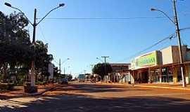 Alto Horizonte - Alto Horizonte-GO-Avenida Principal e Praça da Matriz-Foto:Jackson Rodrigues