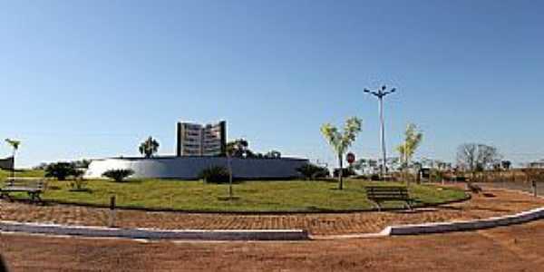 Alto Horizonte-GO-Entrada da cidade-Foto:Jackson Rodrigues