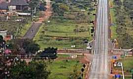 Alto Paraíso de Goiás - Trevo de acesso de Alto Paraiso de Goiás-GO-Foto:Joventino Neto