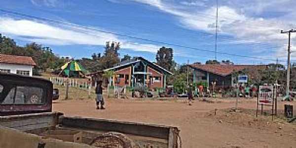 Alto Paraiso de Goiás-GO-Centro da Vila de São Jorge-Foto:Dentro do Mochilão