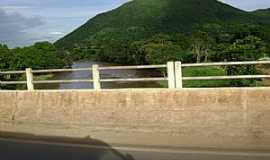 Alvorada do Norte - Alvorada do Norte-GO-Ponte sobre o Rio Corrente-Foto:Cabral Lopes