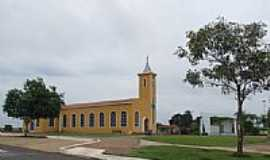 Amaralina - Matriz de São João Batista em Amaralina-GO-Foto:Arolldo Costa Olivei…