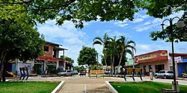 Amaralina-GO-Praça Adolfo Ferreira-Foto:Arolldo Costa