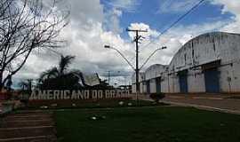 Americano do Brasil - Americano do Brasil-GO-Praça da Bíblia na entrada da cidade-Foto:Arolldo Costa