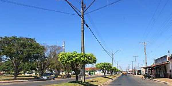Americano do Brasil-GO-Avenida principal-Foto:Jackson Rodrigues