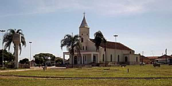 Americano do Brasil-GO-Igreja de São João Batista-Foto:Arolldo Costa