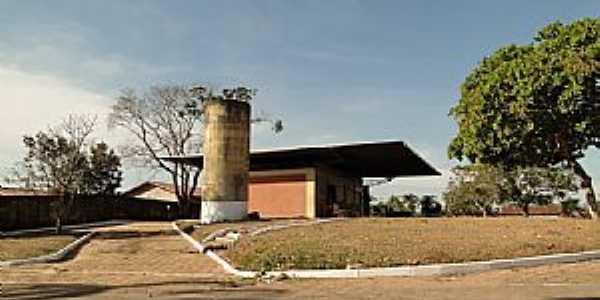 Amorinópolis-GO-Terminal Rodoviário-Foto:Arneide Machado