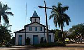 Aparecida de Goiânia - Igreja Matriz da Praça Central de Aparecida de Goiânia  por epitacio isaac