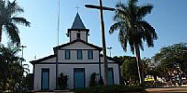 Igreja Matriz da Praça Central de Aparecida de Goiânia  por epitacio isaac