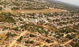 Aragarças - Aragarças-GO-Vista aérea da cidade e aeroporto-Foto:Gal Gomes