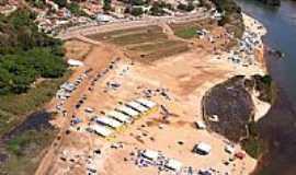 Aragarças - Aragarças-GO-Vista aérea da praia-Foto:Gal Gomes