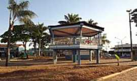 Aragoiânia - Aragoiânia-GO-Coreto na Praça Central-Foto:Arolldo Costa Olivei…