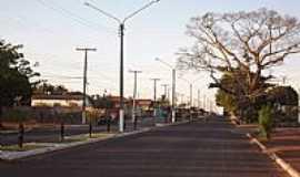 Aragoiânia - Aragoiânia-GO-Rodovia GO-040 na entrada da cidade-Foto:Arolldo Costa Olivei…