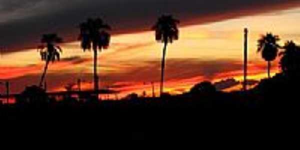 Pôr do Sol-Foto:Araguapaz