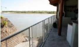 Aruanã - Aruanã-GO-Acesso do rio para a pousada-Foto:celio