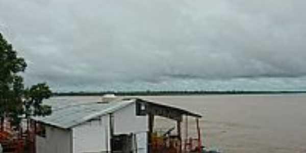 Aruanã-GO-Cheia do Rio Araguaia-Foto:wender marques