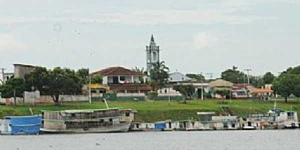 Boa Vista do Ramos-AM-Orla da cidade-Foto:acritica.uol.com.br